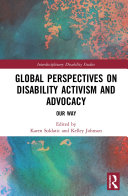 Global Perspectives on Disability Activism and Advocacy Pdf/ePub eBook