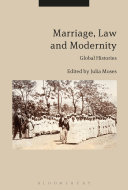 Marriage, Law and Modernity Pdf/ePub eBook