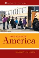 Education in America Pdf/ePub eBook