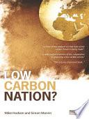 Low Carbon Nation  Book PDF