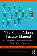The Public Affairs Faculty Manual