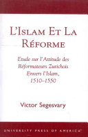 L'Islam Et la Réforme