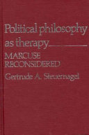 Political Philosophy as Therapy