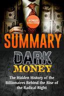 Dark Money Book