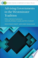 Advising Governments In The Westminster Tradition