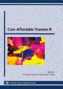 Cost-Affordable Titanium III Pdf/ePub eBook