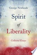 Spirit of Liberality Book