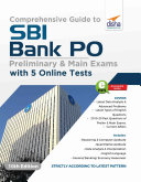 Comprehensive Guide to SBI Bank PO Preliminary & Main Exam with 5 Online Tests (10th Edition) [Pdf/ePub] eBook