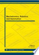 Mechatronics  Robotics and Automation