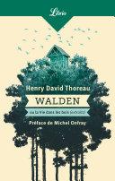 Walden ou La vie dans les bois Pdf/ePub eBook