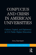 Confucius and Crisis in American Universities
