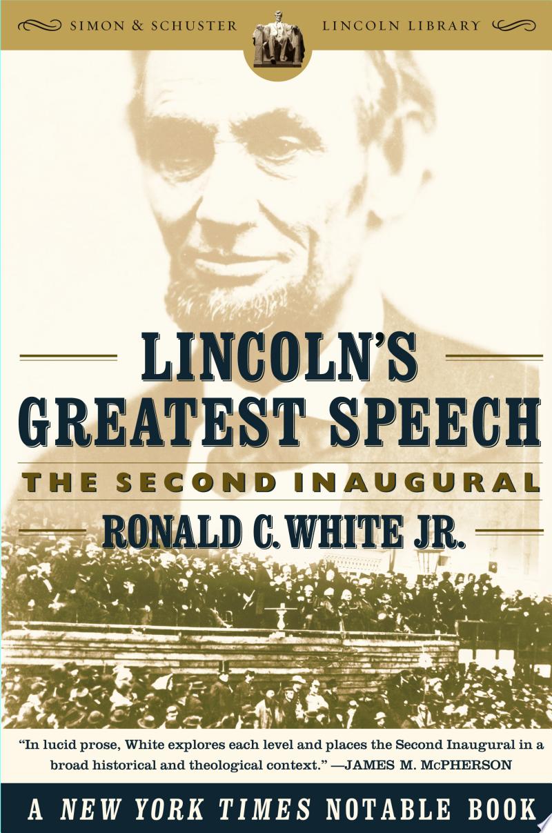 Lincoln's Greatest Speech banner backdrop