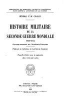 Histoire militaire de la seconde guerre mondiale