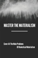 Master The Materialism