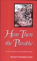 Hear Then the Parable Pdf/ePub eBook
