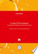 Crude Oil Emulsions