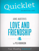 Quicklet on Jane Austen's Love and Friendship (CliffNotes-like Summary)