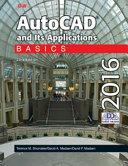 AutoCAD and Its Applications Basics 2016 Book