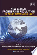 New Global Frontiers In Regulation Book PDF