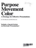 Purpose  Movement  Color