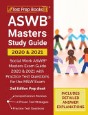 ASWB Masters Study Guide 2020 and 2021