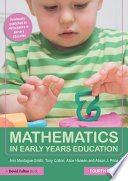 """Mathematics in Early Years Education"" by Ann Montague-Smith, Tony Cotton, Alice Hansen, Alison J. Price"