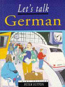 Cover of Let's talk German