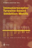 Immunoreceptor Tyrosine-based Inhibition Motifs Pdf/ePub eBook