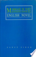 Marriage in the Eighteenth Century English Novel