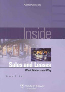 Inside Sales and Leases