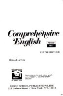 Comprehensive English Review Text Book PDF