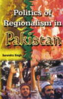 Politics Of Regionalism In Pakistan