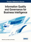 Information Quality and Governance for Business Intelligence Pdf/ePub eBook