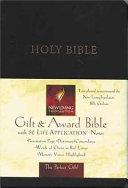 Gift and Award Bible NLT