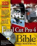 Final Cut Pro4 Bible