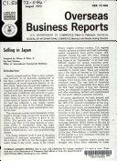 Selling in Japan
