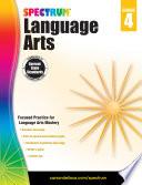 """Spectrum Language Arts, Grade 4"" by Spectrum"
