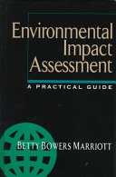 Environmental Impact Assessment  A Practical Guide