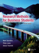 Research Methods for Business Students   Researching and Writing a Dissertation