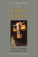 In Defense of Kant's Religion