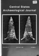 Central States Archaeological Journal