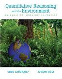 Quantitative Reasoning and the Environment