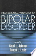 Psychological Treatment Of Bipolar Disorder Book PDF