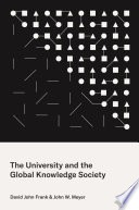 The University And The Global Knowledge Society Book PDF