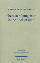 Character Complexity in the Book of Ruth