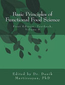 Basic Principles of Functional Food Science