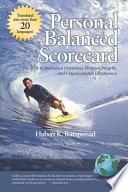 Personal Balanced Scorecard