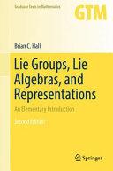 Lie Groups  Lie Algebras  and Representations