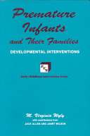 Premature Infants and Their Families Book