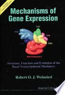 Mechanisms of Gene Expression Book